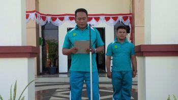 UPACARA MEMPERINGATI HUT MAHKAMAH AGUNG R.I KE - 73