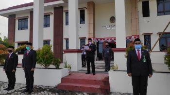 Upacara Bendera Peringatan HUT ke 75 Kemerdekaan Republik Indonesia