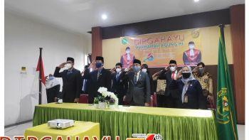 PERINGATAN HUT MAHKAMAH AGUNG RI KE-76 SECARA DARING